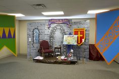 Throne in the Bible teaching area