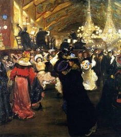 Amazing hand drawn animations by yang hua chun toulouse animation alfred henry maurer le bal au moulin rouge 1902 04 spiritdancerdesigns Images