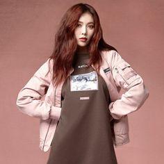Hyuna and Rowon for CLRIDE.N   #Hyuna #Kimhyuna #Kpop #Kpopgirl