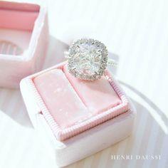 Pretty in Pink.  #love #jewelry #saturday #diamonds #engagementring