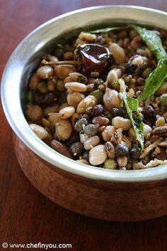 Navarathri Sundal Varities Recipes   Navadhanya Sundal Recipes