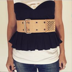 The Tatjana Belt.  H