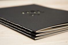 Portfolio by Katrin Kreiner, via Behance | Binding and Die-cutting