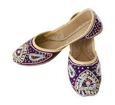 #Beautiful #Indian #Handmade #Leather #Women #Mojari http://kalracreations.com/handicraft/rajasthani-mojaris/women/indian-handmade-leather-women-mojari-1061.html