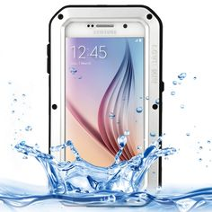 [USD19.25] [EUR17.34] [GBP13.50] LOVE MEI for Samsung Galaxy S6 / G920 Metal Ultra-thin Waterproof Dustproof Shockproof Powerful Protective Case (Silver)