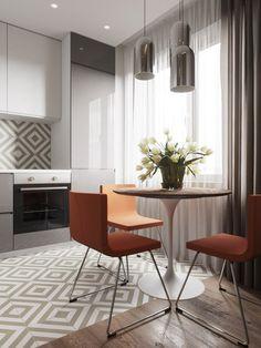 arredare una cucina rettangolare - Cerca con Google | kitchen ...