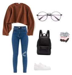 """""""Untitled #61"""" by luciwren on Polyvore featuring NIKE, Uniqlo and PB 0110"""