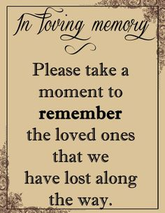 Image result for memorial table at class reunion