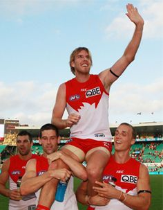 Beat Freo by 13 points. LRT's 150 games. Josh Kennedy best on ground.
