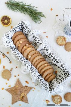 vanillekipferl tartelettes mit orangenfüllung / vanilla crescent ... - Leichte Küche Einfache Rezepte