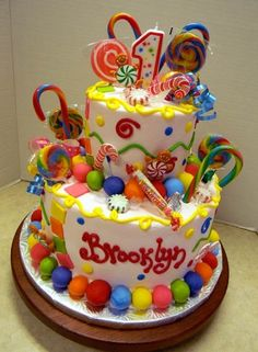 candyland birthday | Candyland Birthday — Children's Birthday Cakes