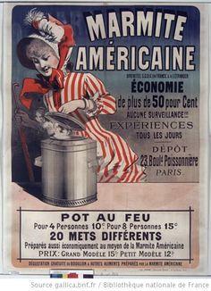 Marmite américaine... : [affiche] / [Jules Chéret] - 1881-1890