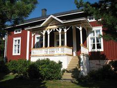 Haapaniemi rectory, Kuortane, South Ostrobothnia province of Western Finland. - Etelä-Pohjanmaa.