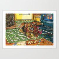 Art Print featuring Cubby by Juliana Kroscen Got Print, Prints For Sale, Framed Art Prints, Design Trends, Metal, Artwork, Originals, Homes, Work Of Art