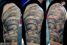 industrial gears tattoos - Google Search