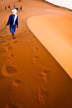 Desert Guide, Sahara Desert, Morocco by Eyebeam Photography