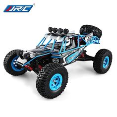 RC Desert Truck Four - wheel Drive High-Speed Truck Desert off - road JJRC highlander Remote Control Boat, Radio Control, Rc Remote, Drones, Carros Rc, Mercedes Stern, Off Road Rc Cars, Desert Buggy, Hors Route