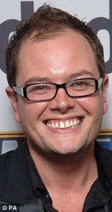 Alan Carr. Quick-witted little sausage.