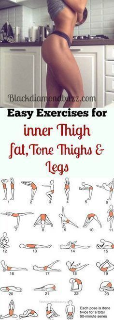 Lovely Best simple exercises to lose inner thighs fat and burn belly fat; tone thighs, legs and slimming waistline fast. It will not take more than 10 minutes for each workout every day and you .. #burnbellyfatexercises #LoseBellyFatWomenFast