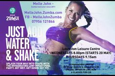 Aqua Zumba classes coming to Loughton.