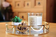 Creating a Family-Friendly Green & Rose Pink Reception Room Scented Candles, Candle Jars, Gold Color Palettes, Pink Candles, Gold Vases, Green Curtains, Create A Family, Calming Colors, Green Vase