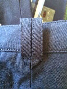 belt loop detail