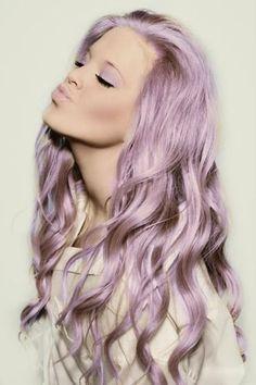 2. #Lilac - 43 Girls #Rocking Pastel Hair ... → Hair #Ombre
