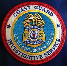 US Coast Guard Investigative Service Patch