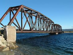 Picture of Analyzing a Simple Truss by the Method of Joints Newfoundland Canada, Newfoundland And Labrador, Beam Bridge, New Brunswick Canada, Bridge Construction, Atlantic Canada, Prince Edward Island, Travel Videos, Salt And Water