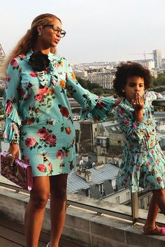 Beyoncè & Blue Ivy in Paris, France July 2016