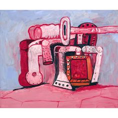 Philip Guston Forms on Lock Ledge 1979 oil on canvas 60 x 72 inches