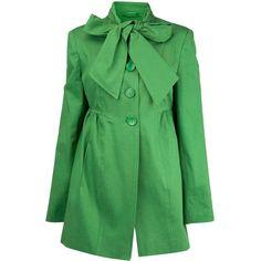 Coats - Coats & Jackets - Dorothy Perkins ($50) ❤ liked on Polyvore featuring outerwear, coats, jackets, green, tops, green coat, dorothy perkins and dorothy perkins coats