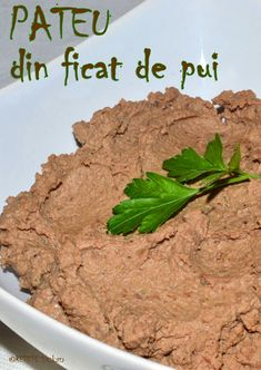 Pateu din ficat de pui Beef, Chicken, Future House, Recipes, Pastel, Food, Home, Dukan Diet, Meat