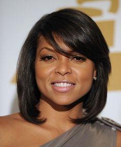 Shoulder Length Short Haircut for Black Women