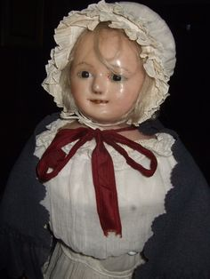 antique wax dolls - Google Search