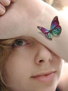 butterfly and flowers tattoos - Google Search