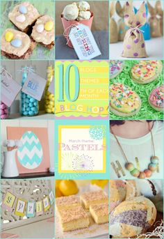10 Pastel Spring Projects & Recipes - inspiration for your Easter and Springtime celebration | KristenDuke.com