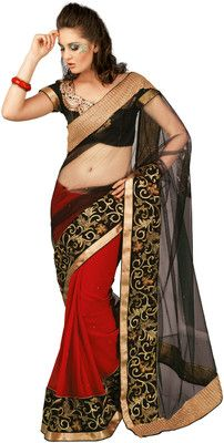 Buy Chirag Sarees Self Design Embroidered Embellished Georgette Sari Online at Best Offer Prices In India. Only Genuine Products. 30 Day Replacement Guarantee. Free Shipping. Cash On Delivery!