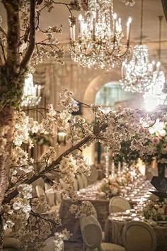 Shabby Chic Wedding Reception