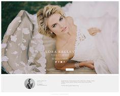 make-up artist website design
