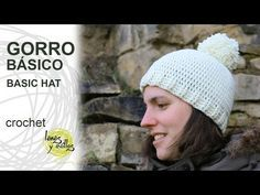 Tutorial Gorro Básico Crochet o Ganchillo - YouTube
