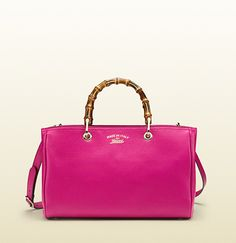 Gucci Bamboo Shopper Leather Tote on shopstyle.com