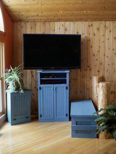 CUSTOM - Tall TV Stand - Sawdust City LLC