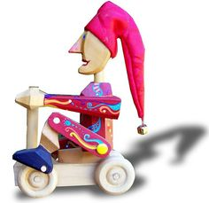 hermoso Pull Toy, Wood Toys, Vintage Wood, Baby Strollers, Children, Videos, Roping Saddles, Wooden Toy Plans, Puppet