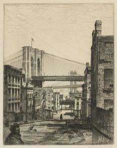 John Taylor Arms (1887-1953) Cobwebs 1921 (24,5 x 19,3 cm)