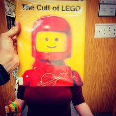 Something is BLOCKing Rosedale Branch librarian Kristys beautiful smile. Oh right its a #bookface! Happy Friday. #bookface #bookfacefriday #library #librarylife #lego #blcks #librarylife #librarian