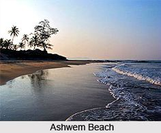 Ashwem beach is a secluded and beautiful beach of Goa which serves as the nesting ground for Olive Ridley turtle. To explore the beach, visit the page.