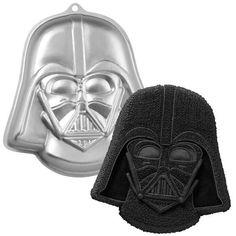 So cool' I gotta have a #StarWars party so I can make this #DarthVader cake! Star Wars Darth Vader Cake Pan