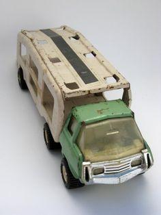 vintage tonka truck -- my little man loves