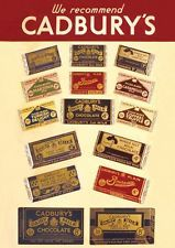 New Cadbury's Chocolate Officially Licensed Postcard Collectables Vintage Retro
